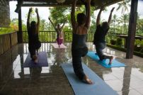 One of the many activities at the Sharing Bali Retreat