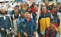 The Crew of the Telcoinabox Merit in 2009   © Leo Rodriguez