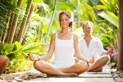 Yoga in a functional garden   © iStock