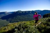 Lisa Tamati Running   © Chris Ord