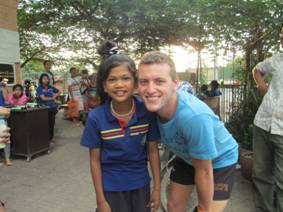 Scott Reynolds on the 2012 Cambodian Cultural Experience | © Australian College of Physical Education