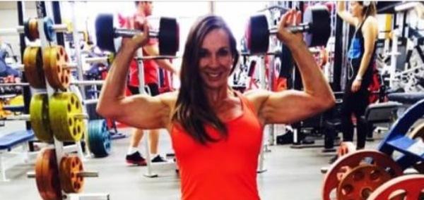 Eleni weight training